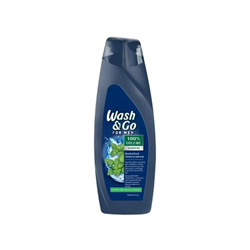 Fotoja e Shampo Wash & GO Menthol Fresh 400 ml
