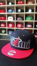 Fotoja e Kapelë Snapback,  Miami Heat New Era 9FIFTY