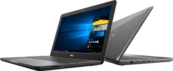 "Fotoja e Notebook Dell Inspiron, Intel Core i5-7200U, DDR4 8GB, HDD 1TB, AMD Radeon R7 M445 4GB, 15.6"", i hirtë"