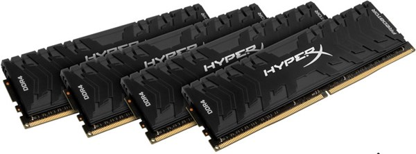 Fotoja e Memorie operative Kingston HyperX Predator, 4x16GB DDR4, 3000MHz