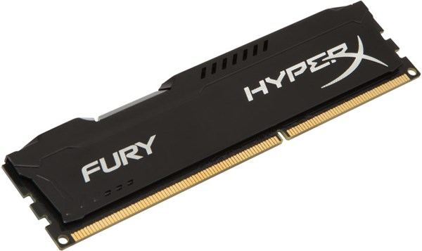 Fotoja e Memorie operative Kingston HyperX Fury, 1x4GB DDR3, 1866MHz, e zezë