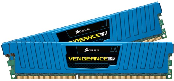 Fotoja e Memorie operative Corsair Vengeance Low Profile CL11, 2x4 GB DDR3, 2133MHz, e kaltër