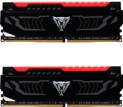 Fotoja e Memorie operative RAM Patriot VIPER LED 16GB (2x8GB) DDR4 2400, e kuqe