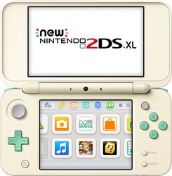 Fotoja e Konzolë Nintendo New 2DS XL, Animal Crossing Edition