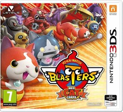 Fotoja e Videolojë Yo-Kai Watch Blasters Red Cat Corps (3DS)